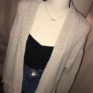 🏷Abercrombie & Fitch Chunky Knit Pocket Cardigan